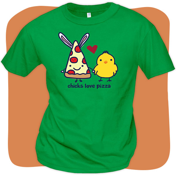 Easter Pizza T-Shirts