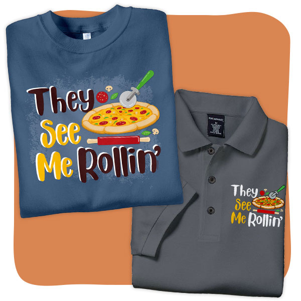 Better Life Pizza T-Shirts