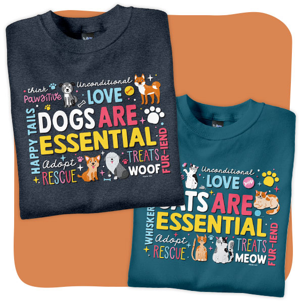 Dog and Cat T-Shirts