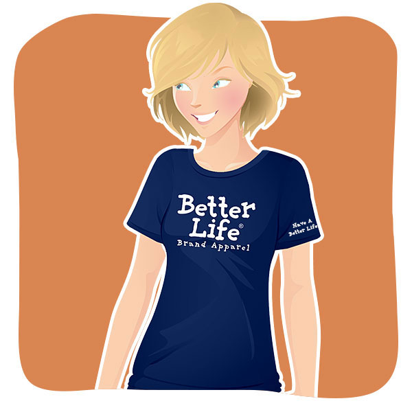 Shop Better Life T-Shirts